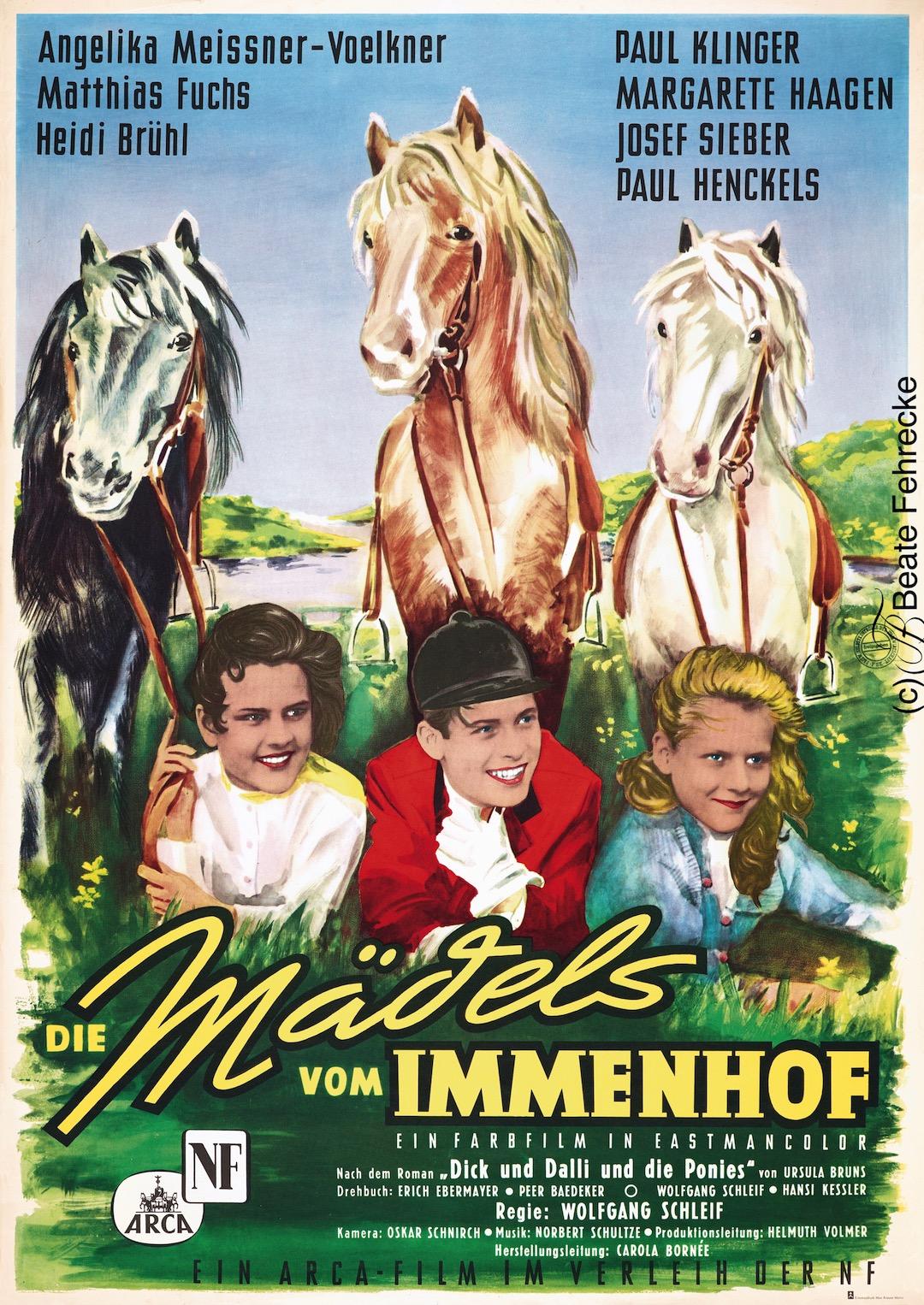 KHF Karl-Heinz Fehrecke Filmplakate, Immenhof